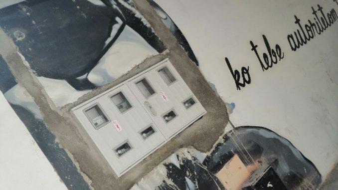 Nije vandalizam nego osvežavanje Flekinog prolaza 7