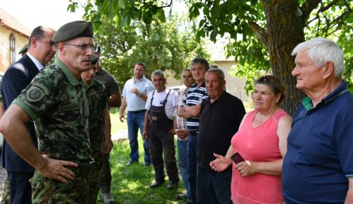 Mojsilović obišao poplavljena područja 2