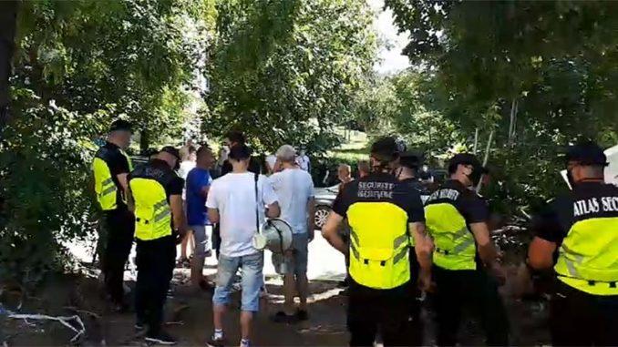 NDBG: Podrška građanima Banovog Brda koji brane park od upada bahatog investitora 1