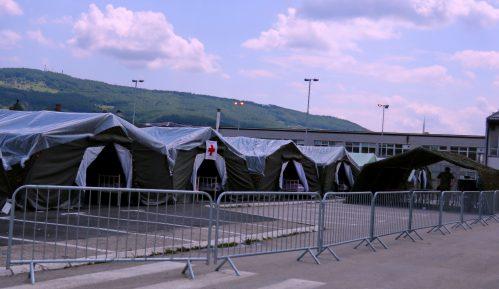 Vojska Srbije formirala poljsku bolnicu u Novom Pazaru 6