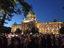 Četvrto veče protesta ponovo obeležili incidenti (FOTO, VIDEO) 19