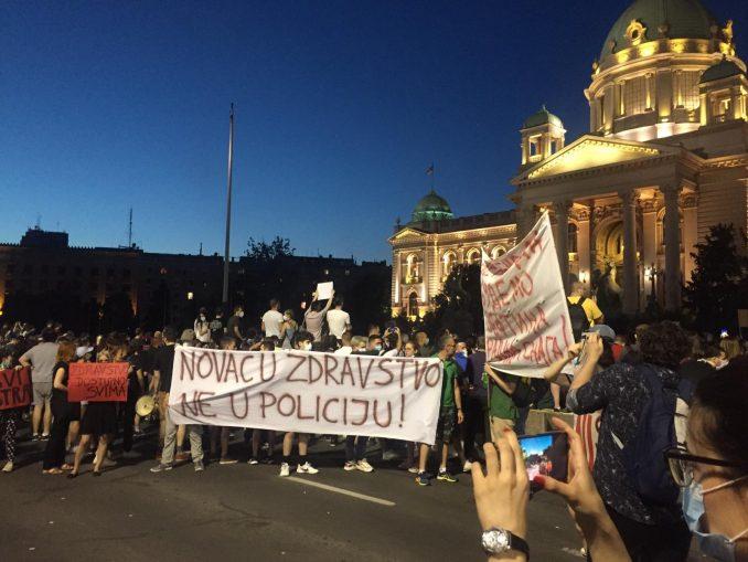 Globalni protest dijaspore za demokratiju u Srbiji (VIDEO) 1