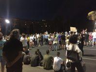 Na petom protestu manje okupljenih nego prethodnih dana (FOTO, VIDEO) 7