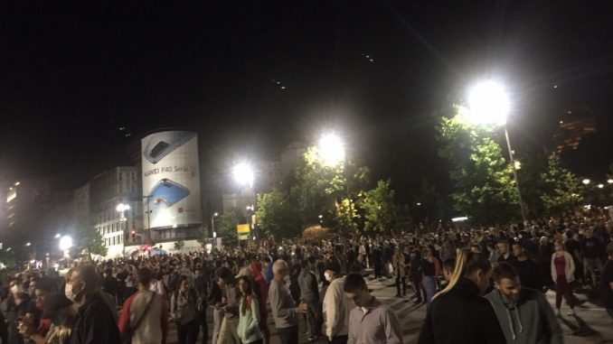 Protest dijaspore za demokratiju, slobodu, ljudska prava i ljudske živote u Srbiji 2