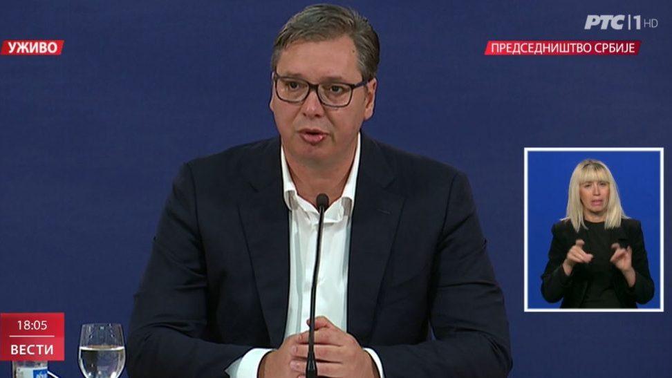 Vučić: Od sutra zabrana okupljanja, od petka policijski čas u Srbiji 1