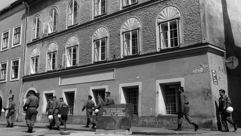 What will happen to Adolf Hitler's birthplace?  2