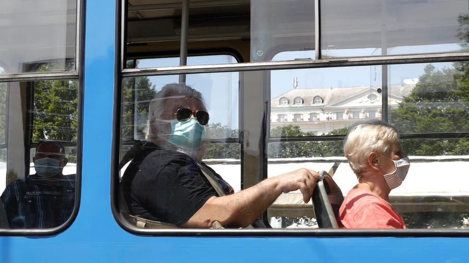 U Hrvatskoj protesti protiv epidemioloških mera 1