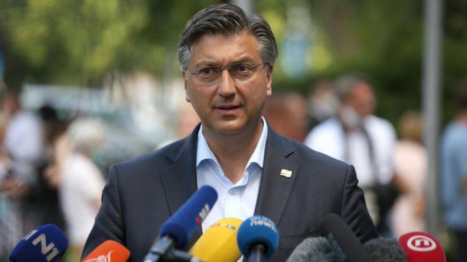 Andrej Plenković pozitivan na korona virus 2
