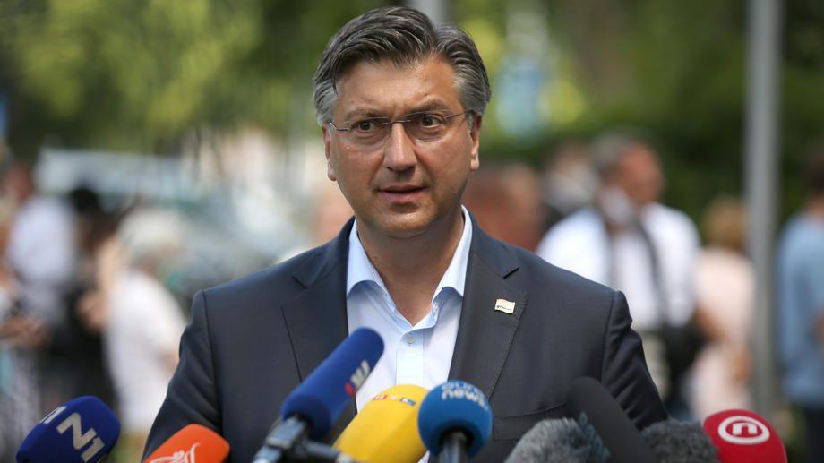 Andrej Plenković pozitivan na korona virus 1