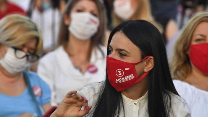 U Severnoj Makedoniji obavezno nošenje maski i na otvorenom, kazna 20 evra 2