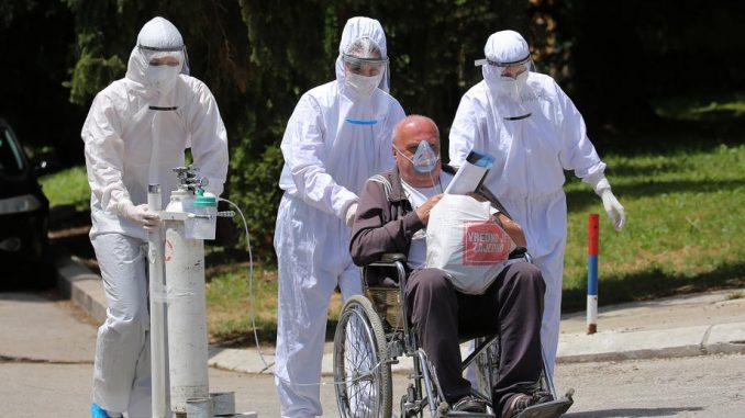 U Srbiji 383 novoobolela, još 13 preminulih i 177 na respiratorima 2