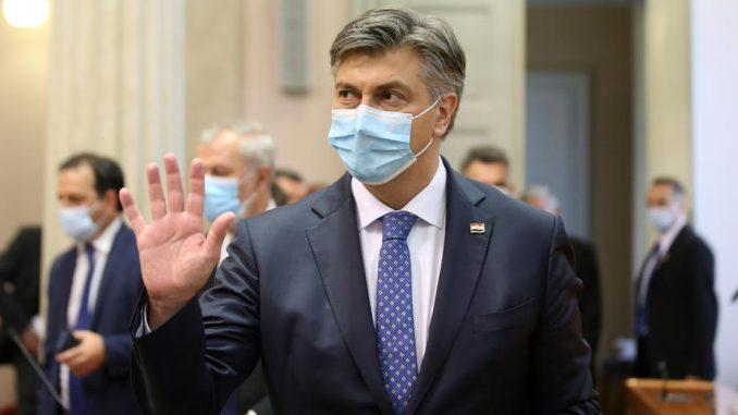 Sabor potvrdio novu vladu desnog centra premijera Andreja Plenkovića 2
