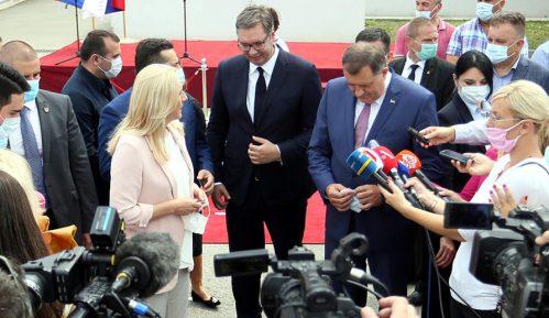 Džaferović: Vučićeva poseta iskorišćena da se pokažu pretenzije prema delu teritorije BiH 15