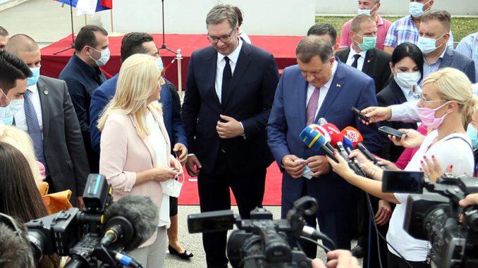 Džaferović: Vučićeva poseta iskorišćena da se pokažu pretenzije prema delu teritorije BiH 4