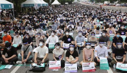 Hiljade mladih lekara u Južnoj Koreji u jednodnevnom štrajku 14