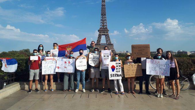 Skretanje pažnje evropskoj javnosti na kriminalni režim u Srbiji 1