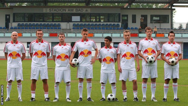 RB Leipzig players in 2009