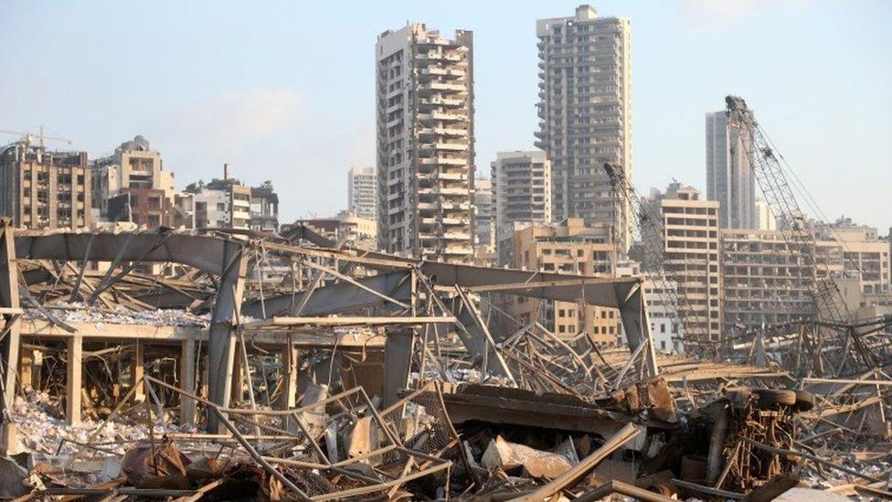 Bejrut posle eksplozije