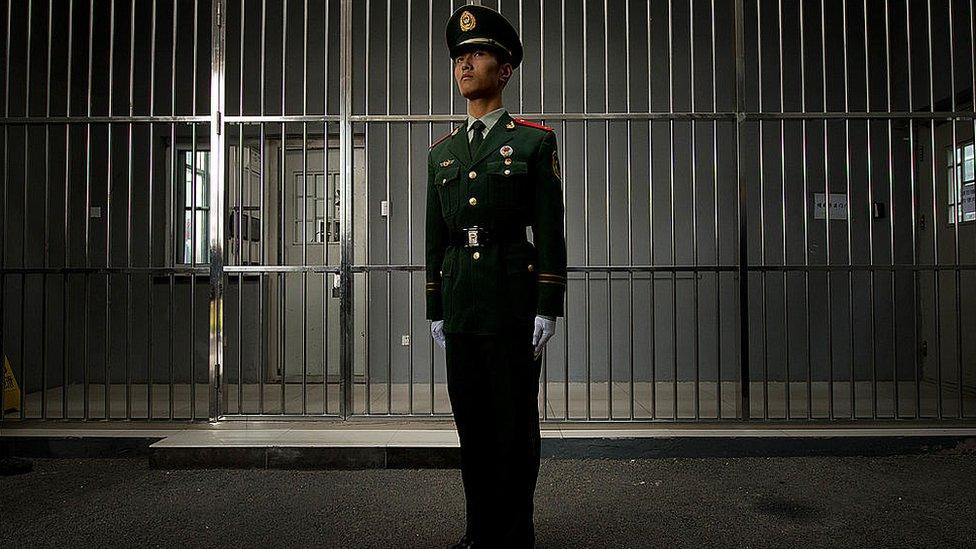 Fotografija iz zatvora u Pekingu