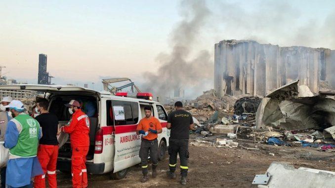 Eksplozija u Bejrutu: Raste broj žrtava, Makron tokom posete pozvao na promene u Libanu 2