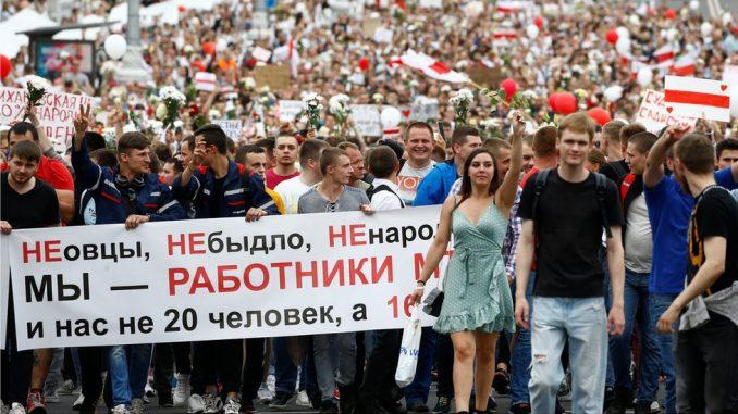 Izbori u Belorusiji: Tihanovskaja pozvala na mirne proteste širom zemlje tokom vikenda 3