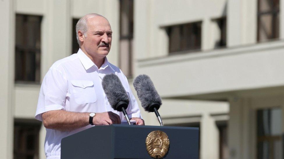Alexander Lukashenko - 16 August