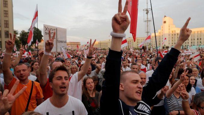 """Izbori u Belorusiji: Istraga protiv lidera opozicije zbog """"pokušaja da preuzmu vlast"""" 4"""