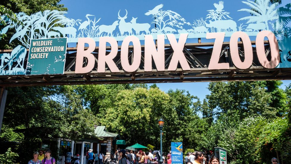 The entrance to the Bronx Zoo pictured in 2016