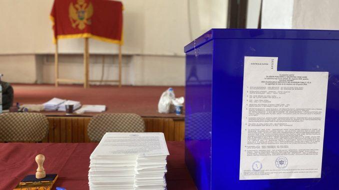 """Izbori u Crnoj Gori: Prve procene - vladajući DPS na 35,12 odsto, """"Za budućnost Crne Gore"""" ima 32,5 2"""