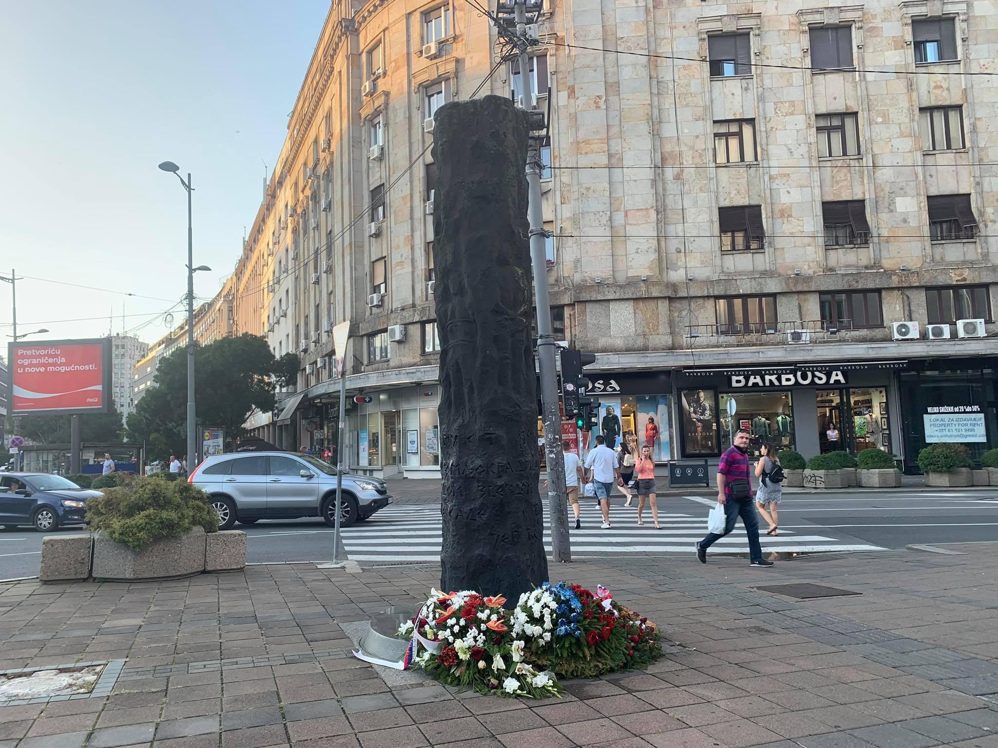 Većina Beograđana ne zna šta predstavlja spomenik na Terazijama (VIDEO) 2