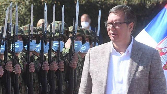 Vučić: U oktobru ćete videti sve šta ima VS, trešće se zemlja na bojevom gađanju 3