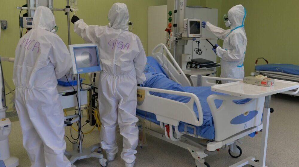 KC Niš: U bolnici 54 pacijenta kovid pozitivno, od toga troje dece 1