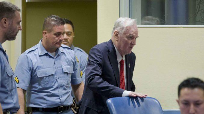 Ratko Mladić će imati 10 minuta da se obrati sudu 1