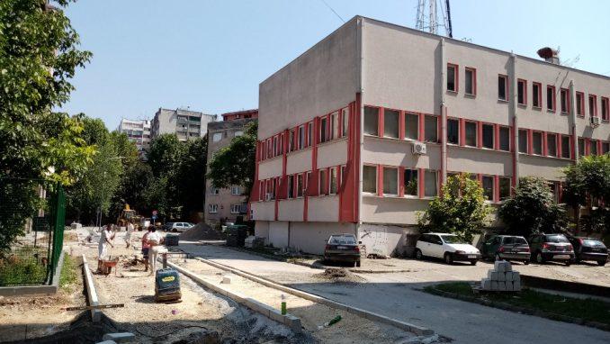 Uređenje novinarske ulice u Šapcu 2