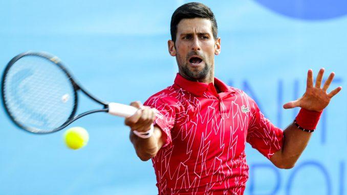 Novak Đoković pobedio Filipa Krajinovića u prvom kolu turnira u Beču 2