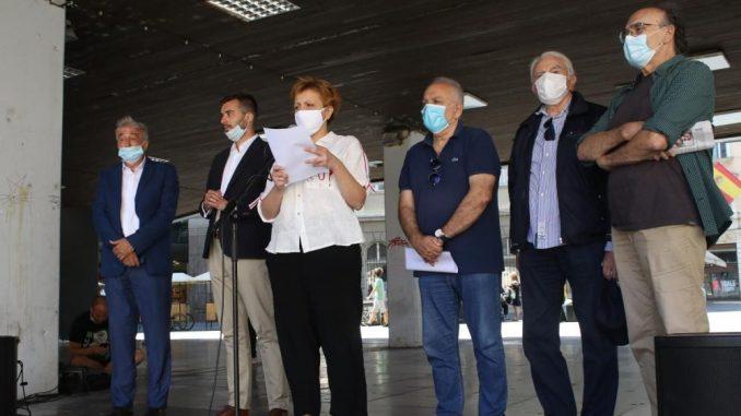 Skupština slobodne Srbije: Ministarka Gojković da se odredi prema progonu umetnika i novinara 4