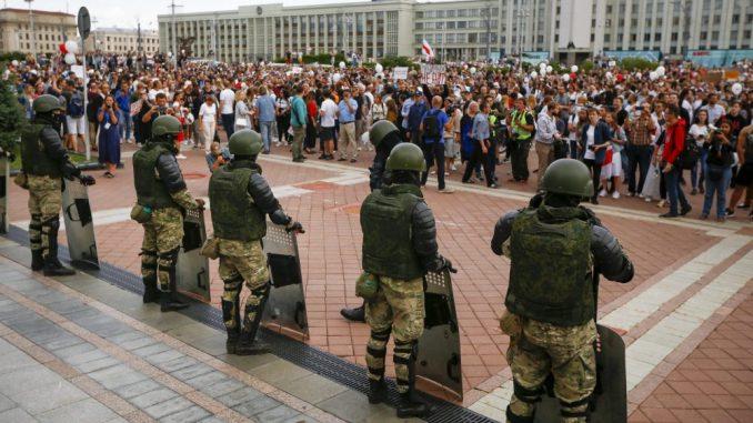 U Minsku nekoliko hiljada ljudi na protestu protiv Lukašenka 2