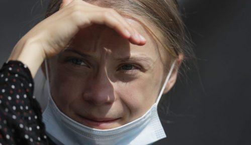 Aktivistkinja Greta Tunberg kod Angele Merkel, osudila negiranje promene klime 12