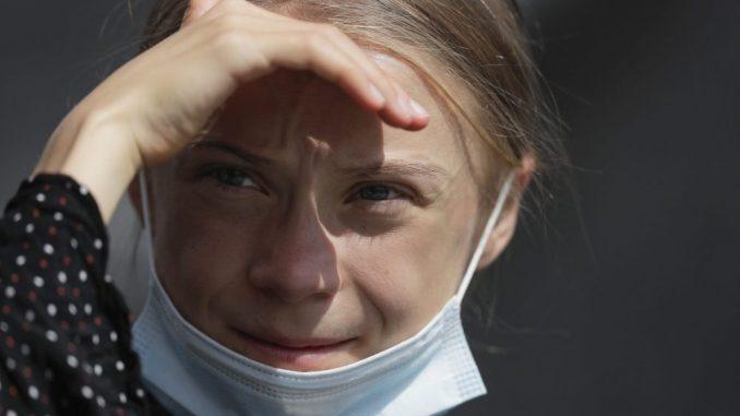 Aktivistkinja Greta Tunberg kod Angele Merkel, osudila negiranje promene klime 3