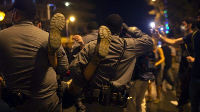 Protesti protiv premijera Netanjahua u zamahu 1
