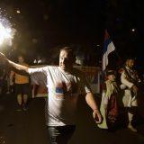 Podgorica: Slavlje pristalica partija koje su pobedile na izborima u CG 10