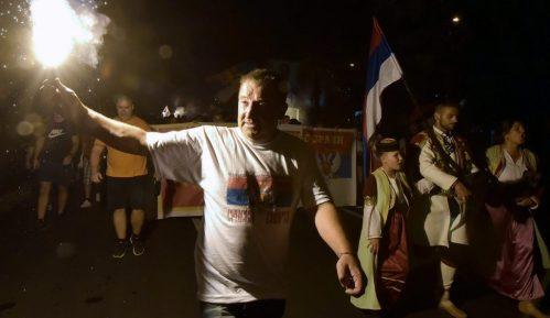 Podgorica: Slavlje pristalica partija koje su pobedile na izborima u CG 3
