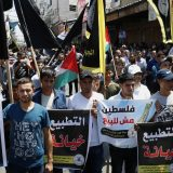 Gaza: Stotine Palestinaca protestovale zbog sporazuma Izraela i UAE 3