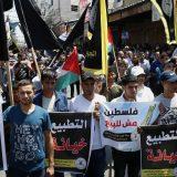 Gaza: Stotine Palestinaca protestovale zbog sporazuma Izraela i UAE 10