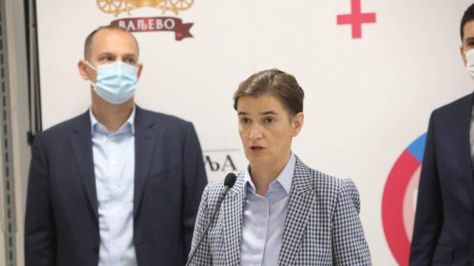 Premijerka Srbije o tvrdnjama opozicije o Telekomu Srbija i Krušiku 3