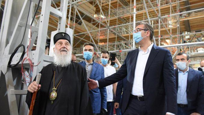 Vučić: Država je u Hram Svetog Save za tri godine uložila 43 miliona evra 3