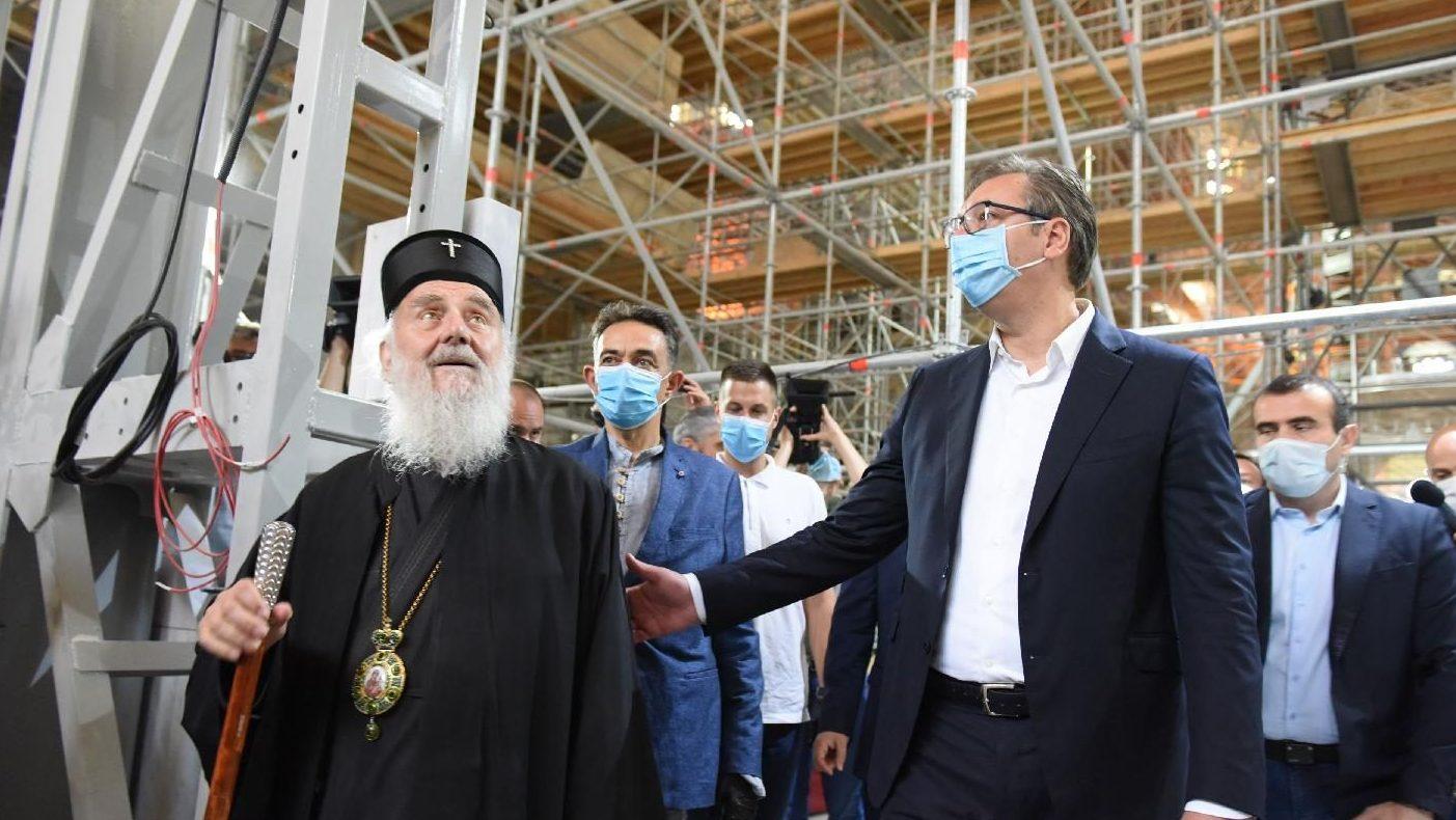 Vučić: Država je u Hram Svetog Save za tri godine uložila 43 miliona evra 1