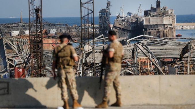 Eksplozija u bejrutskoj luci ostavila krater dubok 43 metra 4