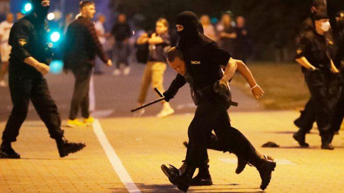 MUP Belorusije: Tokom nereda privedeno više od 3.000 demonstranata 5