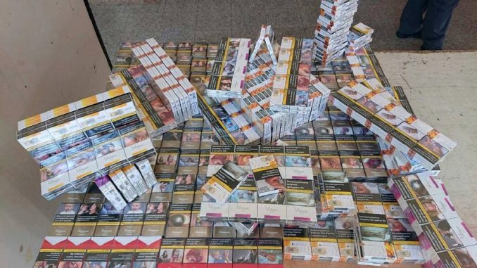 Carinici zaplenili oko 700 paklica cigareta 1